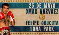 Omar Narvaez vs Felipe Orucuta - full fight Video pelea WBO 2013