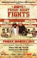 Willie Nelson vs Michael Medina - full fight Video NABF 2013