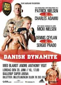 Patrick Nielsen vs Charles Adamu - full fight Video 2015 result