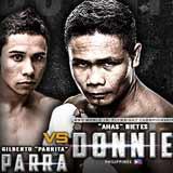Donnie Nietes vs Gilberto Parra - full fight Video 2015 pelea
