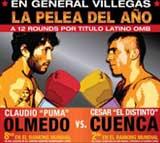 Claudio Olmedo vs Cesar Cuenca - full fight Video pelea completa WBO