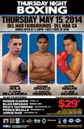Manuel Avila vs David De La Mora - full fight Video pelea 2014