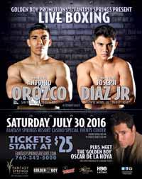 Antonio Orozco vs Abner Lopez - full fight Video 2016 pelea