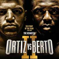 Andre Berto vs Victor Ortiz 2 - full fight Video 2016 result