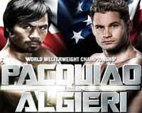 Manny Pacquiao vs Chris Algieri - fight Video 2014 result Wbo