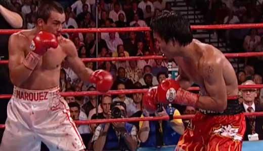 Manny Pacquiao vs Juan Manuel Marquez 1 - full fight Video pelea 2004