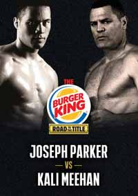 Joseph Parker vs Kali Meehan - full fight Video 2015 result