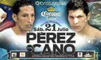 Johan Perez vs Pablo Cesar Cano - full fight Video pelea WBA title