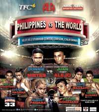 Albert Pagara vs William Gonzalez - full fight Video 2015 result