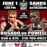 Video - Sechew Powell vs Gabriel Rosado - full fight video WBO Int.