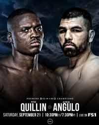 Peter Quillin vs Alfredo Angulo full fight Video 2019