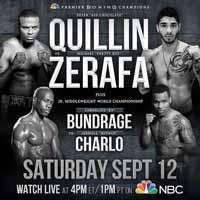 Peter Quillin vs Michael Zerafa - full fight Video 2015 result