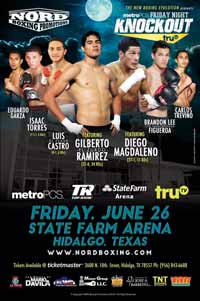 Diego Magdaleno vs Jose A Gonzalez - fight Video 2015 result