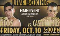 Ronny Rios vs Robinson Castellanos full fight Video pelea 2014