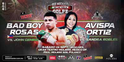 Daniel Rosas vs Jhon Gemino - full fight Video 2015 pelea