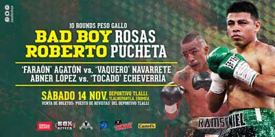 Abner Lopez vs Daniel Echeverria - full fight Video 2015 result