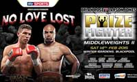 Brian Rose vs Carson Jones - full fight Video 2015 result