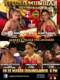 Alberto Rossel vs Gabriel Mendoza - full fight Video pelea WBA 2014