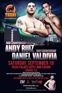 Andy Ruiz Jr vs Franklin Lawrence - fight Video 2016 NABF