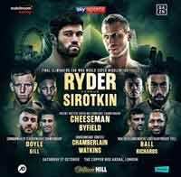 John Ryder vs Andrey Sirotkin full fight Video 2018