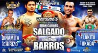 Video - Alejandro Sanabria vs Seiichi Okada - full fight video pelea
