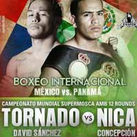 David Sanchez vs Luis Concepcion - full fight Video 2015 Wba