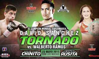 David Sanchez vs Walberto Ramos - full fight Video 2015 result