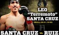 Leo Santa Cruz vs Jesus Ruiz - full fight Video 2015 pelea Wbc