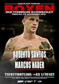 Roberto Santos vs Marcos Nader - full fight Video pelea 2012 EBU