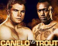 Saul Alvarez vs Austin Trout - full fight Video pelea WBC Canelo vs Trout