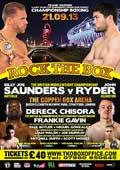 Billy Joe Saunders vs John Ryder - full fight Video 2013-09-21