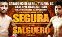 Giovani Segura vs Felipe Salguero - full fight Video pelea 2014