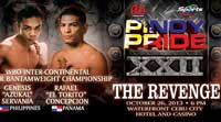Genesis Servania vs Rafael Concepcion - full fight Video 2013-10-26