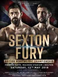 Hughie Fury vs Sam Sexton full fight Video 2018