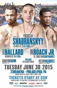 Shabranskyy vs Paul Parker - full fight Video 2015 result