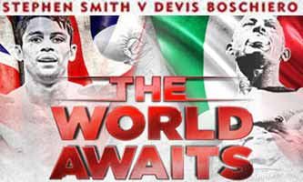Stephen Smith vs Boschiero - full fight Video 2015 result