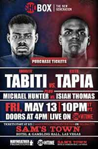 Andrew Tabiti vs Keith Tapia - full fight Video 2016 NABF