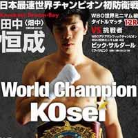 Kosei Tanaka vs Vic Saludar - full fight Video 2015 WBO
