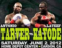 Antonio Tarver vs Lateef Kayode - full fight Video pelea IBO title