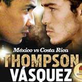 Sergio Thompson vs Bryan Vasquez - full fight Video 2014 Wba