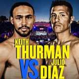 Keith Thurman vs Julio Diaz - full fight Video pelea 2014 WBA