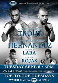 Austin Trout vs Joey Hernandez - full fight Video 2015 result