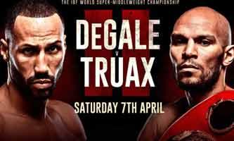 Caleb Truax vs James DeGale 2 full fight Video 2018 IBF