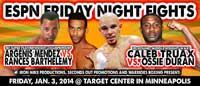 Caleb Truax vs Ossie Duran - full fight Video 2014-01-03
