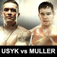 Oleksandr Usyk vs Johnny Muller - full fight Video 2015 result