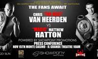 Chris van Heerden vs Matthew Hatton - full fight Video IBO 2013