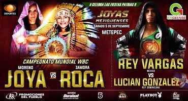 Rey Vargas vs Lucian Gonzalez - full fight Video 2015 pelea
