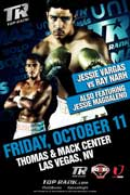 Jessie Vargas vs Ray Narh - fight Video pelea 2013-10-11