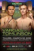 Francisco Vargas vs Will Tomlinson - full fight Video 2015 result