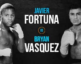 Bryan Vasquez vs Javier Fortuna - full fight Video 2015 WBA